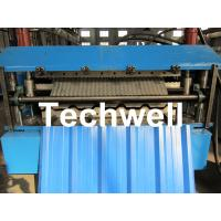 China Manual / Automatical Type Double Roof Roll Forming Machine For Metal Roofing, Sheet Roof wholesale