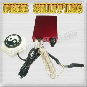 China MINI TATTOO MACHINE POWER SUPPLY KIT CLIP & FOOT SWITCH wholesale
