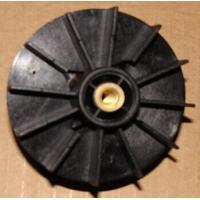 China Black PA66 Injection Moulded Plastic Parts Motor / Pump Fan Blades wholesale