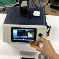 China 3nh YS6060 benchtop spectrophotometer with PC software for Transmittance and reflectance and Haze of colored glass wholesale