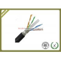 Quality Outdoor Cat6 UTP Network Fiber Cable 0.56mm Copper Double Jacket 1000ft 23AWG for sale