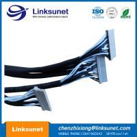 China PA Custom Wiring Harness DF14 - 15S - 1.25C 15P PICH 1.25MM / HRS LVDS Display Cable wholesale