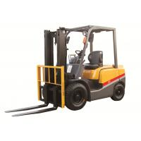 China 2 3 4ton ISUZU energy saving engine diesel powered forklift yellow color turning radius 2170mm with CE certificate on sale