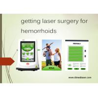 Buy cheap Piles Surgery Recovery Laser Treatment Machine For External Hemorrhoids Removal from wholesalers