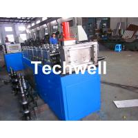 China Steel Stud and Track Cold Roll Forming Machine for Light Weight Steel Truss / Furring Channel wholesale