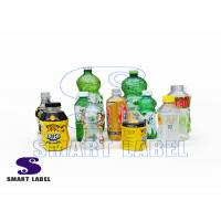 China Recycle Shrink Wrap PET Bottle Wrap Labels for Energy Drinks / Paints / Detergent wholesale