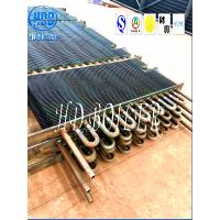 China Ss Boiler Fin Tube Spiral , Fin And Tube Heat Exchanger Energy Saving wholesale