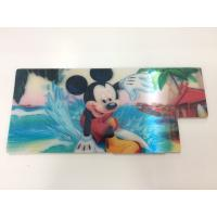 China Customized Shape Die Cutting PP 3D Lenticular Stickers For Pencil Case ISO9001:2008 wholesale