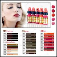 China Tattoo Semi Permanent Makeup Pigments Ink Lushcolor Cosmetic Cream Eyebrow wholesale