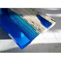 China Ultra clear countertop table top river table-Crystal Epoxy Resin -P128 wholesale