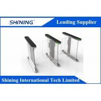 China High Speed Barcodes System Supermarket Swing Gate With Problem-Self-Checking wholesale