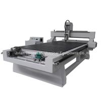 China 4 Axis CNC Wood Engraving Machine with Rotary Axis Fixed in X-axis wholesale