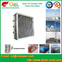 China High Temperature Solid Fuel Boiler Steam Air Preheater In Cement Plant wholesale