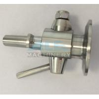 China Sanitary Stainless Steel Sample Valve with Tri Clamp Ends Perlick Sample Valve for Beer Brewery wholesale