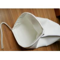 Quality Micron Rated Liquid Filter Bag , Needle Felt PE / PP Welded Bag Filter for sale