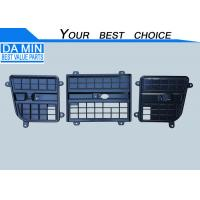 China ISUZU 2014 Model Cab Frond Lid Grille Black Plastic Combine With Three Parts on sale