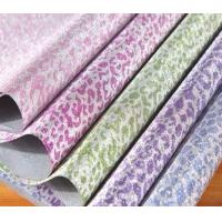 Quality Fashionable and colorful glitter gift packing paper , Chemical Pulp festive wrapping paper for sale