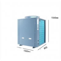 China IPV4 Cold Climate Air Source Heat Pumps Chilled Machine DHW Heat Pump 8KW wholesale