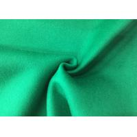 China Pure Green Double Layer Fabric , Wool Felt Fabric Various Design Comforcable wholesale