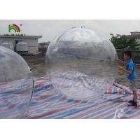 Buy cheap 1.8m Clear PVC Inflatable Water Ball / Inflatable Water Walking Ball For Kids from wholesalers