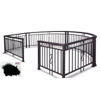 China SGS Garden Fence All Coat Powder Coating Good Delay Impact Performance wholesale