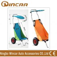 China Aluminum Folding Beach Cart / surf fishing Cart Kayak Trolley wholesale