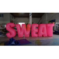 China Sweat Characters Inflatable Product Replicas Silk Screen Printing Excellent Design wholesale