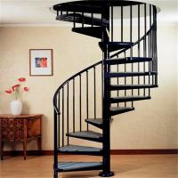 Staircase railing glass images images of staircase for Aluminum spiral staircase prices