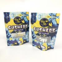 China Mylar Foil Gushers Bags Herbal Incense Packaging Packing Pills Stand Up Pouch Custom Logo wholesale