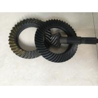 China Custom Ring And Pinion Gears , Spiral Crown And Pinion Gear Long Using Life wholesale