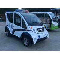 Buy cheap 4 Seats Electric Platform Truck Cruising Vehicle With Zero Emission Environmental Friendly from wholesalers