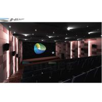 China Reality Virtual 7.1 Audio System 5D Movie Theater With Luxury Motion Chair wholesale