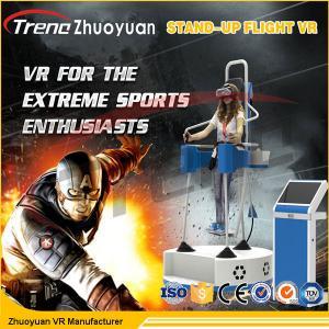 Full Motion Virtual Reality Flight Simulator Standing With 360 Degree VR 1080P Glasses