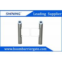 China Automatic Reset Security Swing Arm Gate With IC EM Reader For Supermarket wholesale