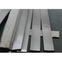China 201 / 202 stainless steel flat bar , cold rolled stainless steel flat stock 20x4 - 200x40 size wholesale