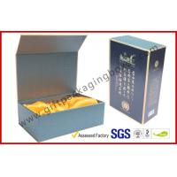 China Luxury Black Paper Win Gift Boxes with Golden Print Custom Made wholesale