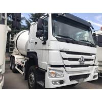 China HOWO Diesel Self Loading 10 Cubic Meters 6×4 Concrete Mixer Truck With Q345B Material on sale