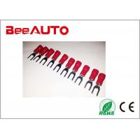 China SV1.25-3.5 Red Furcate Type Insulated Fork Terminal 19A Fireproof Resistant wholesale