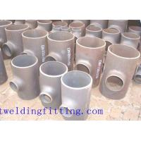 China SS304 SS316L Stainless Steel Tee Steel Butt - Weld Pipe Fittings 1-48 Inch wholesale