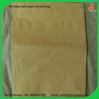 China BMPAPER Recycled close to korea brown karft liner paper for cement bags wholesale