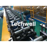 China Galvanized Steel Profile Roller Shutter Door Guide Rail Cold Roll Forming Machine wholesale