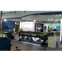 China 4 Color 3.2M Double Sided Eco Solvent Printing Machine for Flex Banner wholesale