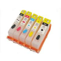China Black / Cyan HP 564 Compatible Printer Ink For Deskjet 3070A 3520 Recycling wholesale