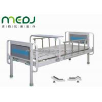 Semi Fowler Manual Hospital Bed , MJSD06-03 Two Cranks Hospital Patient Bed