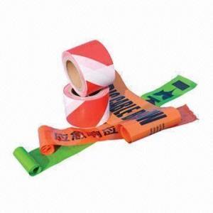 China PE warning tape, non-adhesive wholesale