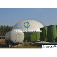 China Glass-Fused-To Steel GFS Tanks / Enamel Steel Tank In Water Treatment And Engineering Sewage wholesale