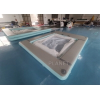 China Double Wall Fabric Sea 0.9mm PVC Inflatable Yacht Pool wholesale