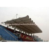 China Aluminum Window Prefabricated Steel Structures Round Steel Brace For Stadium wholesale