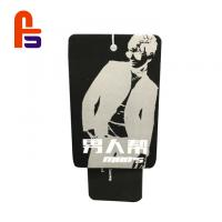 China Logo Printed Cardboard Swing Tags , Clothing Hang Tags Wide Applicability wholesale