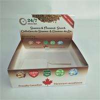 China Kraft Paper Box Packaging Corrugated Retail Counter Lip Balm Whey Protein Bar Type wholesale